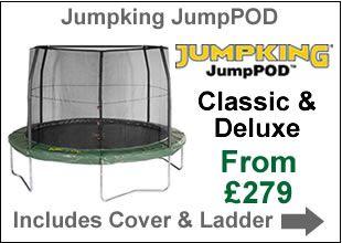 jumpking jumppod trampoline