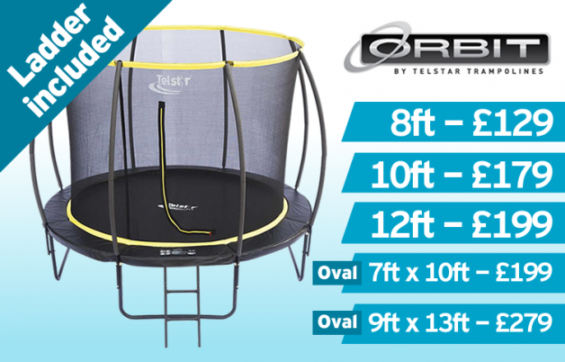Telstar Orbit Trampoline