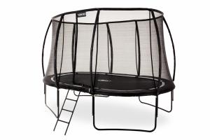 7 x 10ft Oval Telstar Vortex BLACK Edition Package with FREE Cover and Ladder