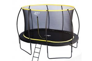 7 x 10ft Oval Telstar Orbit Trampoline And Enclosure Package With FREE Ladder