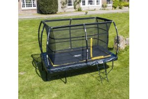 7.5ft x 10ft Telstar ELITE Rectangle Trampoline Package INCLUDING COVER, LADDER and DELIVERY