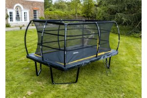 8ft x 12ft Telstar Elite Rectangle Trampoline Package INCLUDING COVER, LADDER and DELIVERY