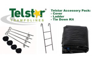 14ft Telstar Cover, Ladder and Tie Down Kit Packs