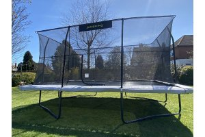 Jumpking 11.5ft x 16ft Rectangular Combo Pro Trampoline