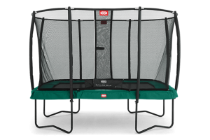 BERG Ultim Champion Rectangular Trampoline with SN DELUXE Enclosure - 32.35.73.71