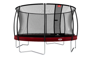 BERG 11ft (330cm) ELITE+ REG Trampoline with T Series Safety Enclosure