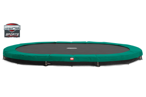 BERG SPORTS SERIES In Ground Grand Champion Oval Trampoline 16ft 10 x 12ft