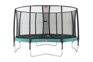 BERG 14.3ft (430cm) Champion Trampoline with SN DELUXE Enclosure