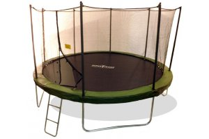 14ft Superflyer MK3 Trampoline with Enclosure with FREE Ladder