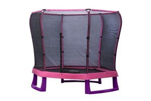 Plum 7ft Junior Jumper Trampoline - PINK and PURPLE - 30197