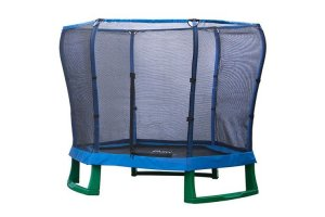 Plum 7ft Junior Jumper Trampoline - BLUE and GREEN - 30198AB82