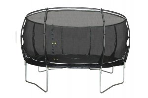 14ft Plum Magnitude Trampoline and Enclosure - 30165AB87
