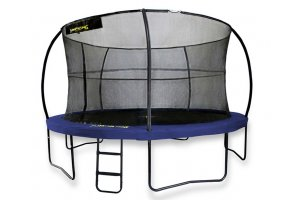 10ft JumpPOD Deluxe Trampoline with Enclosure and FREE Ladder