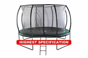 10ft Telstar Jump Capsule DELUXE Mk II With Stay Safe Enclosure, Cover & Ladder