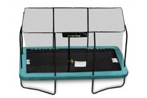 10ft x 14ft Jumpking Rectangular Trampoline with Enclosure and Ladder