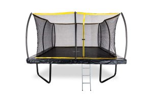 15ft x 15ft Telstar ELITE Mega Bounce Square Trampoline Package INCLUDING COVER, LADDER and INSTALLATION