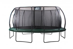 14ft x 17ft Telstar Jump Capsule DELUXE Mk II With Stay Safe Enclosure, Cover & Ladder