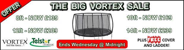 vortex trampoline sale