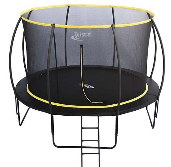 Jumpking Trampoline Ladder Instructions: 12ft Telstar Orbit Trampoline And Enclosure Package With