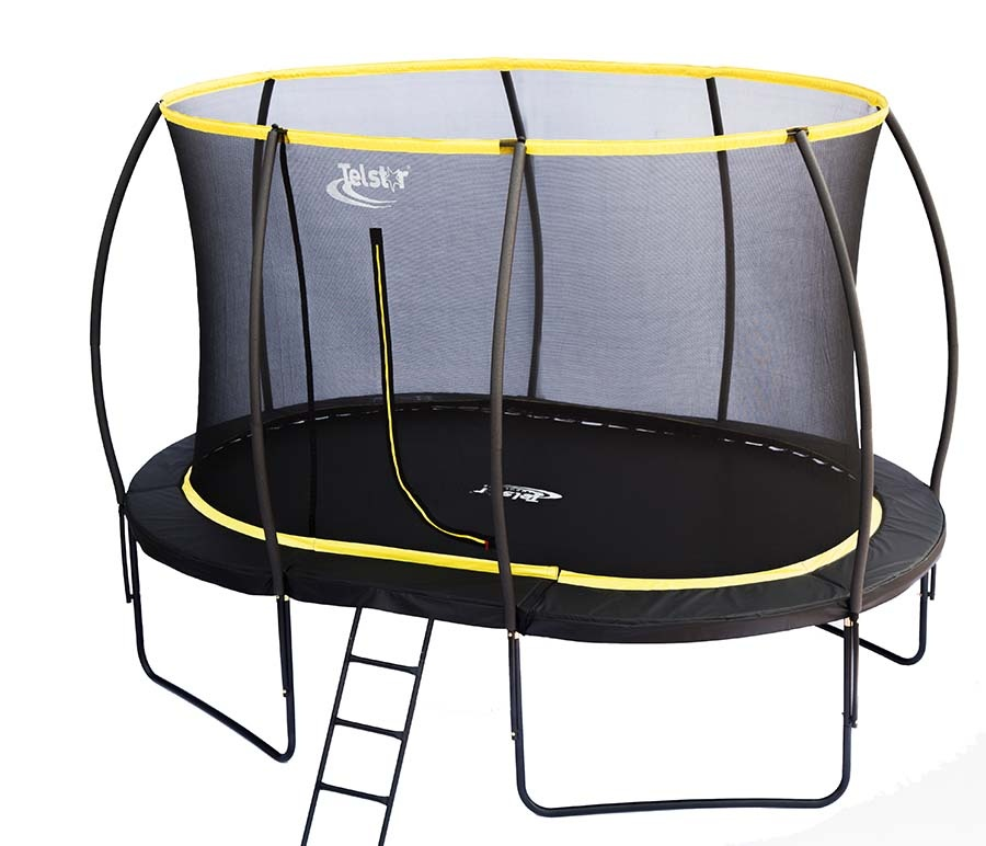 Jumpking Trampoline Ladder Instructions: 7 X 10ft Oval Telstar Orbit Trampoline And Enclosure
