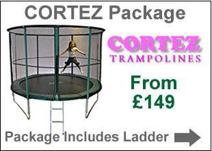 Cortez Trampolines & Safety Enclosures | Trampolines Online