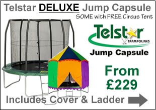 Telstar Deluxe Trampolines | Trampolines Online
