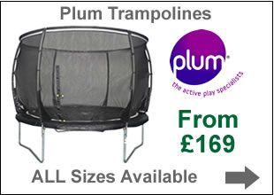 Plum Trampolines | Trampolines Online