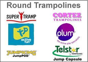 Round Trampolines | Trampolines Online
