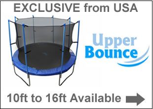 New Upper Bounce Trampoline | Trampolines Online