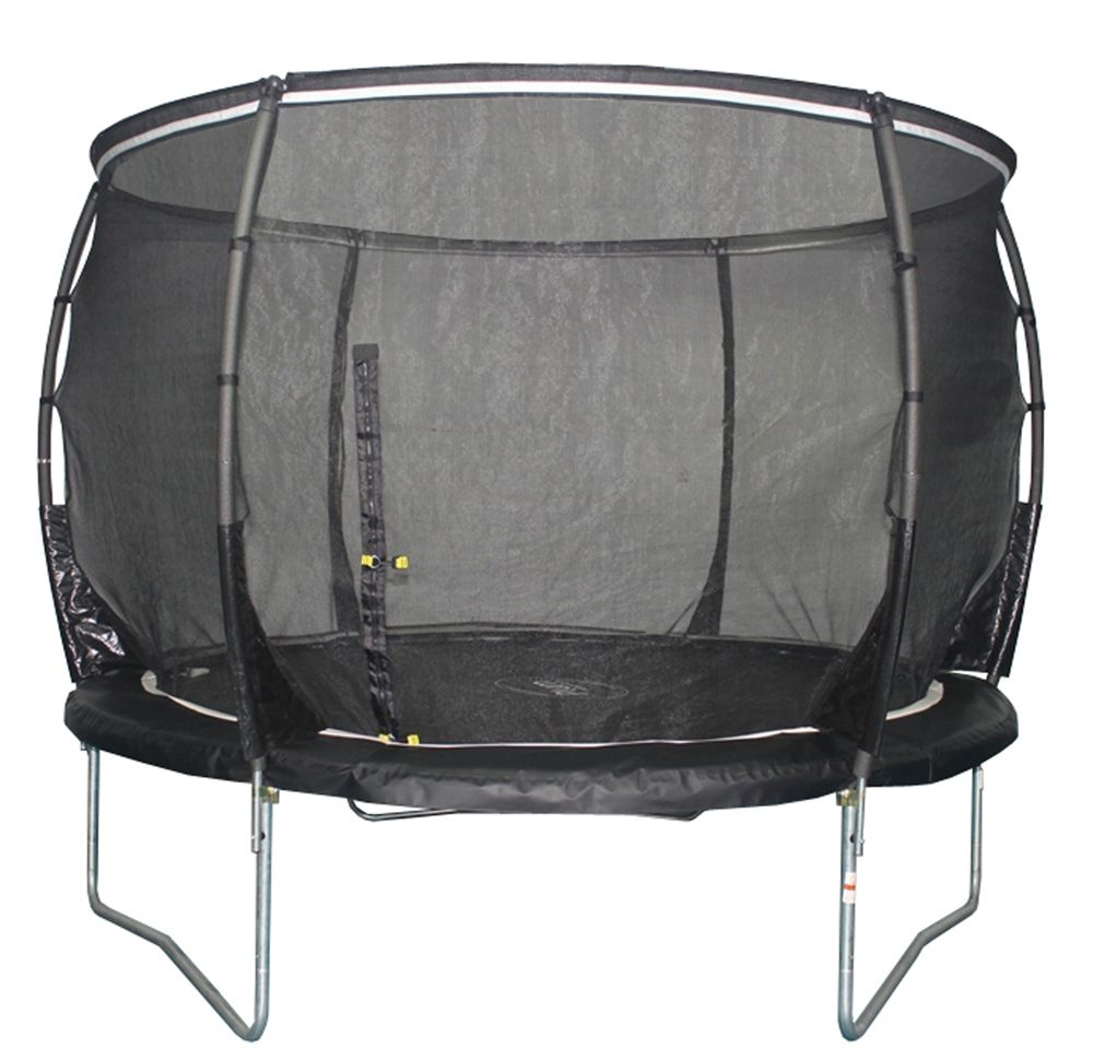 10ft Plum Magnitude Trampoline And Enclosure