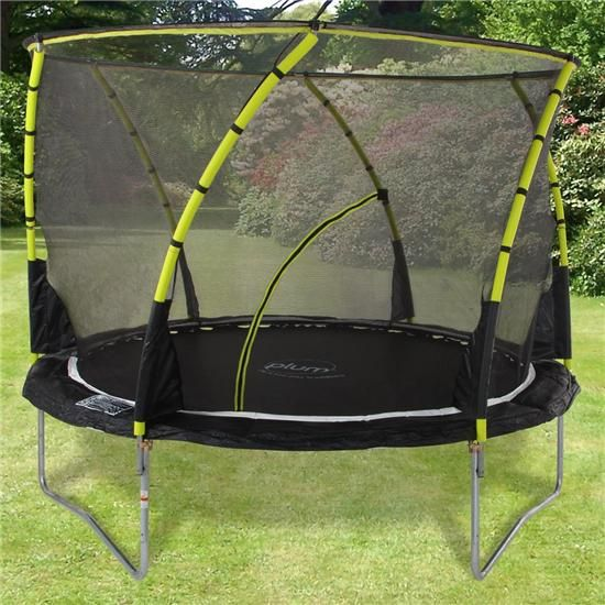 12ft Plum Whirlwind Trampoline And Enclosure