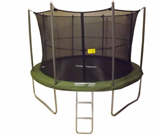 Jumpking Trampoline Ladder Instructions: 10ft SUPERTRAMP Springtime Trampoline With Enclosure And