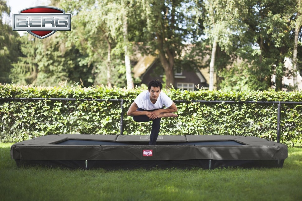 11ft In Ground Rectangle Trampoline Trampolines Online