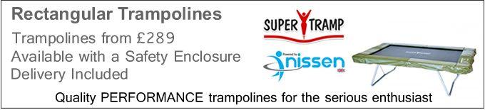 Rectangular Trampolines | Trampolines Online