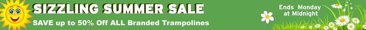 trampoline sale