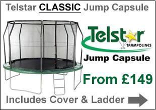 Telstar Classic Jump Capsule | Trampolines Online