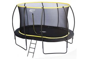 9 x 13ft Oval Telstar Orbit Trampoline And Enclosure Package With FREE Ladder